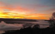 photo paysages rhone fleuve drome : Aube d'octobre (2)