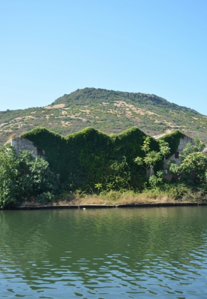 PHOTO Bosa Sardaigne Villes  - Friche industrielle au bord du Temo