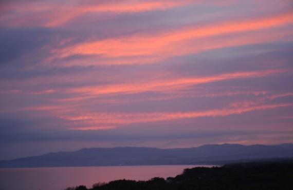PHOTO Mer de Sardaigne Aube Marine  - Aube sur la mer de Sardaigne
