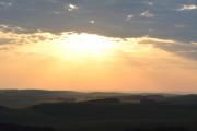 photo paysages aubrac aube : Aube sur le plateau de l'Aubrac