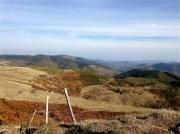 photo paysages ardeche montagnes : Les Monts d'Ardèche en automne