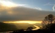 photo paysages rhone fleuve drome ardeche : Ciel contrasté