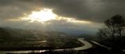 photo paysages rhone fleuve drome : Ciel hivernal
