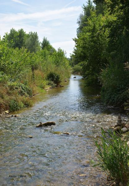 PHOTO L'Herbasse rivière Drôme (département) Paysages  - L'herbasse
