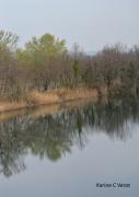 photo paysages les grenieres etang drome isere fleuve : Les grenières