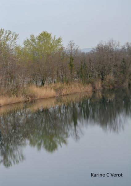 PHOTO Les Grenières Etang Drôme Isère (fleuve) Paysages  - Les grenières