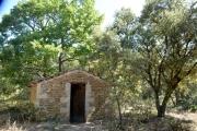 photo paysages drome provencale cabanon : Cabanon en Provence