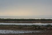 photo marine etang de bages sigea aude : Etang de Bages à l'Aube
