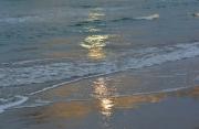 photo marine costa del azahar espagne mediterranee : Vagues illuminées