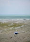 photo marine cotesdarmor : Marée basse au port de Cancale