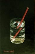 tableau nature morte distorsion eau : Distorsion