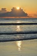 photo marine costa del azahar espagne mediterranee : Aube