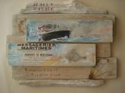 tableau marine bois flotte longitude paquebot l illustration : messageries maritimes