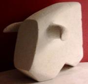 sculpture animaux j ,p o taureau : Taureau
