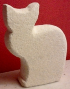 sculpture animaux j ,p o chat : Chat