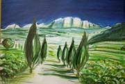 tableau paysages j ,p o la sainte victoire : La Sainte Victoire