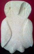 sculpture animaux j ,p o chouette : Chouette