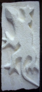 sculpture animaux j ,p o salamandre : Salamandre