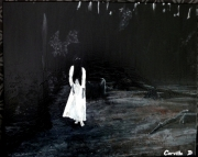 tableau scene de genre film dark horreur fantome : Yurei