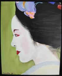 Geisha#07...pensive