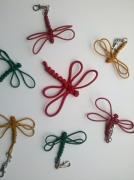 bijoux animaux portecle libellule noeud maedup : Porte-clé papillon
