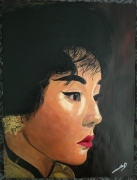 tableau personnages asie femme actrice cinema : Maggie Cheung