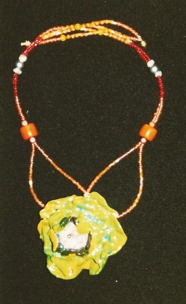 JEWELRY fleur couleur bijoux art Fleurs  - Flora 3