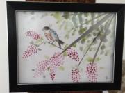 autres fleurs oiseau lilas paysage : Enchantement