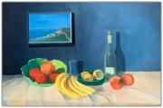 tableau nature morte tableau dans le tabl fruits : NM 8 Fruits