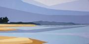 tableau paysages marine temps gris dune : Dune du Pyla