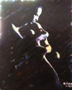 tableau personnages femme corps ombre lumiere : PENOMBRE