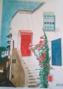 tableau architecture amor aoun sidi bousaid : Sidi bousaid Tunisie