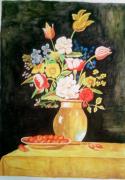 tableau fleurs amor aoun fleurs : fleurs