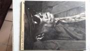 tableau personnages hooker blues guitariste chanteur : John Lee Hooker