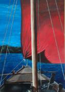 tableau marine marine loire fleuve futreau : FUTREAU DE LOIRE