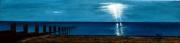 tableau marine plage mer noirmoutier vacances : ORAGE SUR LUZÉRONDE