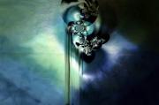 art numerique abstrait noir crane mort eau : Plagues