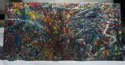 tableau abstrait expressionnisme abstrait : 17