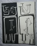 tableau personnages expressionnisme miroir : 19