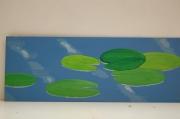 tableau paysages nenuphars eau : Nénuphars