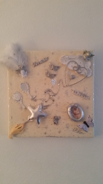 ARTISANAT D'ART  - les anges de l 'amour