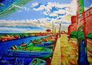 tableau marine : Le Petit Port 2