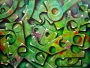 tableau abstrait : Structures 6