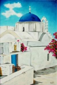 Sérénité à Santorin