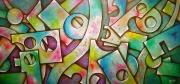 tableau abstrait : Structures 7