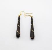 bijoux autres bijoux boucles d oreil bois goutte : gouttes
