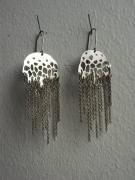 bijoux animaux bijoux argent boucles d oreil mer : Acalèphes