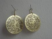 bijoux fleurs bijoux boucles d oreil laiton fleur : pissenlit