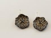 bijoux bijoux boucles d oreil argent bois : pileas