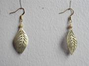 bijoux autres bijoux boucles d oreil laiton feuille : feuille